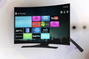 telewizor w sypialni, smart tv