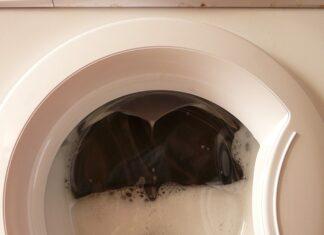 pranie w pralce